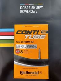 Dętka rowerowa Continental Tour 26 (650C) All, zawór Presta, 42 mm, Inner Tube