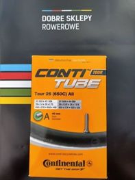 Dętka rowerowa Continental Tour 26 (650C) All, zawór Schrader, 40 mm, Inner Tube