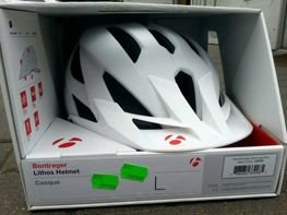 Kask Bontrager Lithos Large White 433433